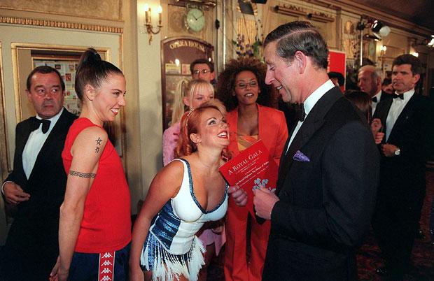Prinz Charles, Geri Halliwell