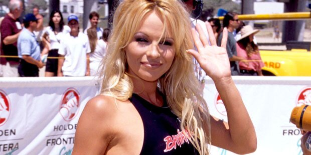 Pam Anderson bei