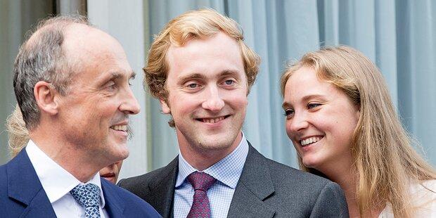 Coronavirus: Belgischer Prinz nach Feier in Spanien positiv
