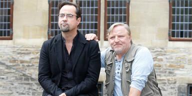 """""""Tatort""""-Duo Jan Josef Liefers und Axel Prahl"""