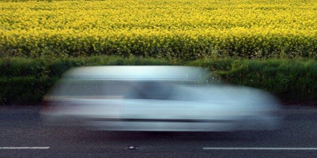Auto-Lenker mit 188 km/h unterwegs