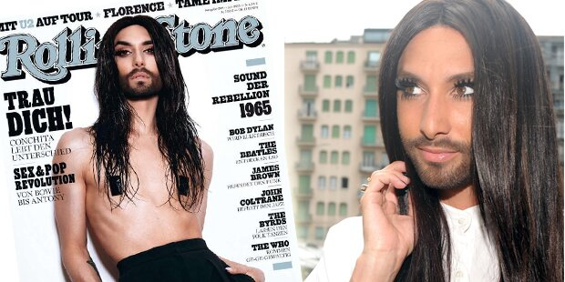 Conchita Wurst: Nackt am Rolling-Stone-Cover