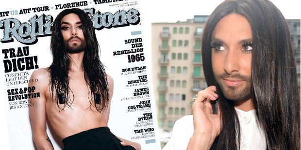 Conchita Wurst: Nackt am Rolling-Stone-Cover