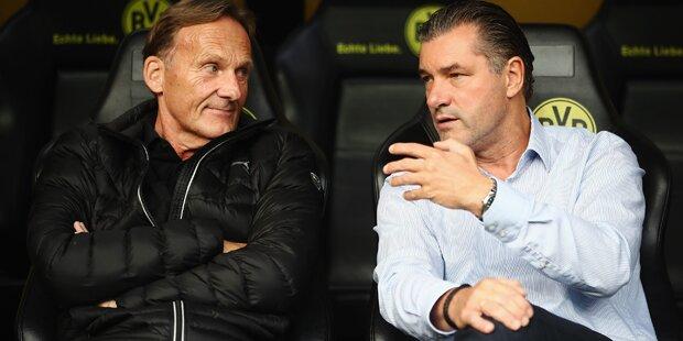 Dortmund: Zorc attackiert Bayern-Bosse