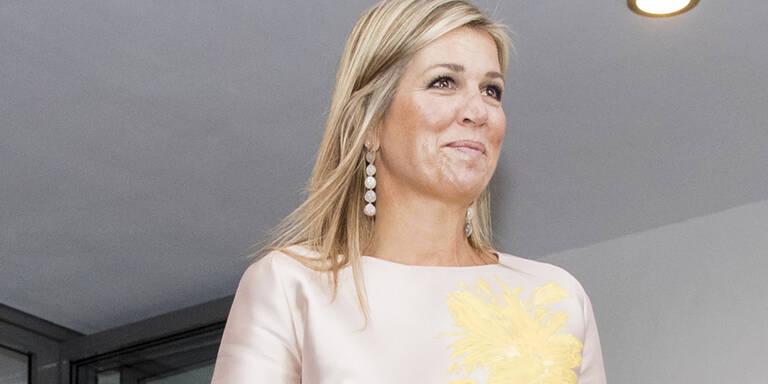 Königin Maxima trägt jetzt eine Zahnspange