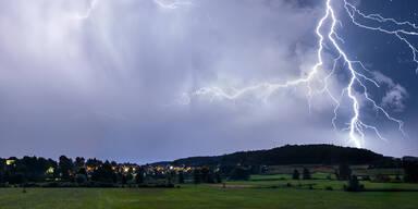 Gewitter Blitz Unwetter