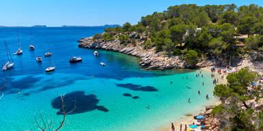 Strand Spanien Meer Urlaub