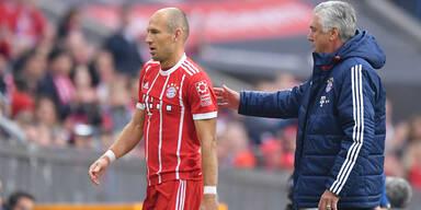 Ancelotti Robben