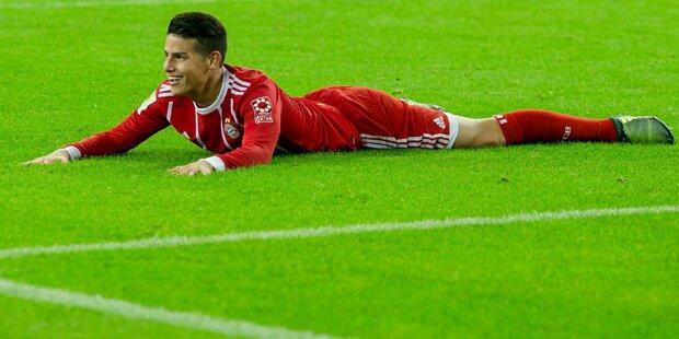 FC Bayern: Transfer-Flucht von James?