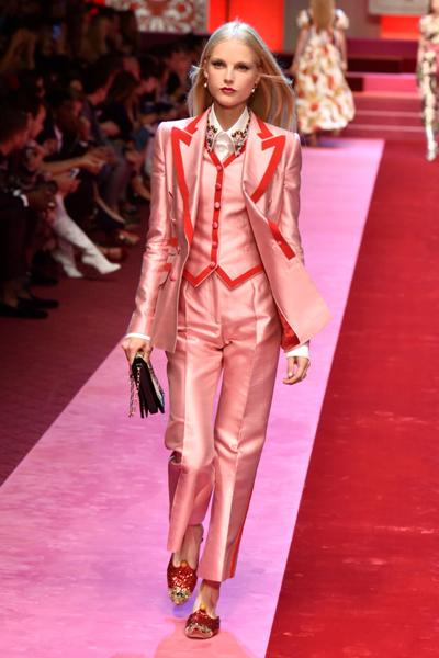 Runway Dolce Gabbana