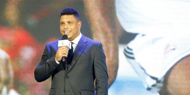 Ronaldo wegen Lungenentzündung auf Intensivstation