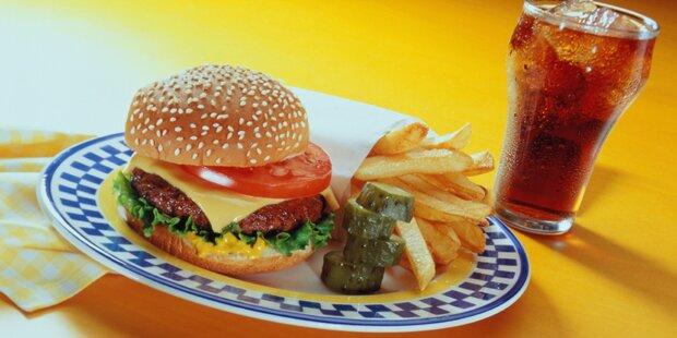 Warum man nie Limonade zu Burger trinken sollte