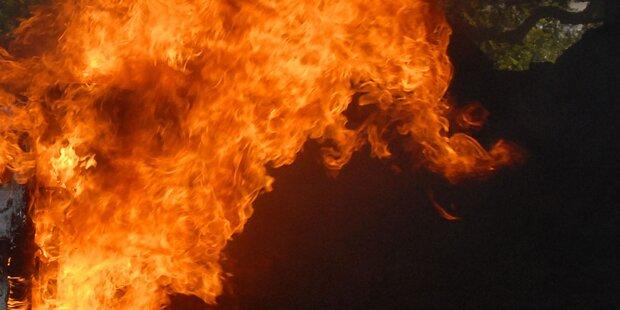 Großbrand in Lengau