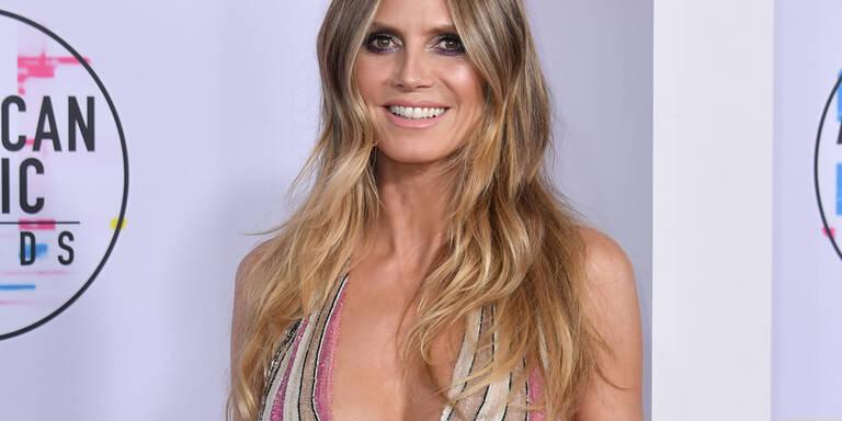 Heidi Klum zeigt wieder XXL-Dekolleté