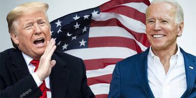 US-Wahl: Biden liegt vor Trump