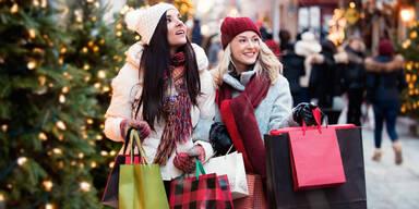 Weihnachtsgeschenke Weihnachtsshopping Shopping X-mas