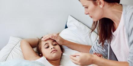 Was tun, wenn das Kind krank ist