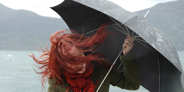 Sturmwarnung für den Süden Salzburgs