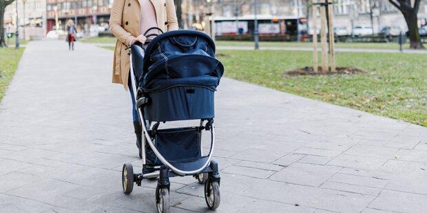 Ex-Freund raubt Frau Baby samt Kinderwagen