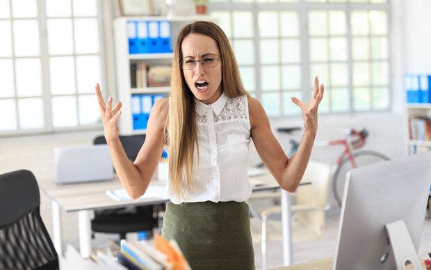 Bei 30% ständig Streit in der Arbeit