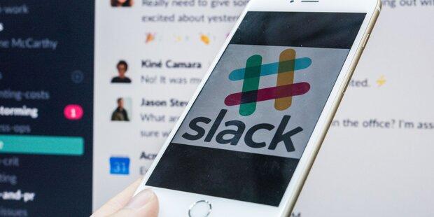 Bürochat-App Slack startet an der New Yorker Börse