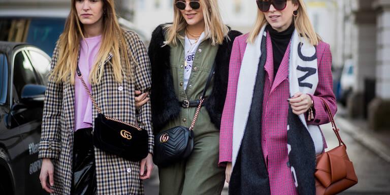 Steet Styles frisch von der Fashion Week