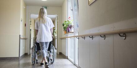 Besuchsverbot in den Seniorenheimen
