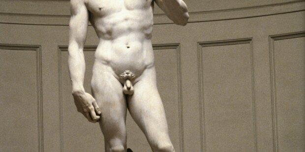 Warum haben antike Statuen so kleine Penisse?
