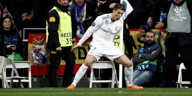 3:1 von Real: Ronaldo-Gala schockt PSG