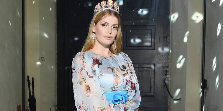 Prinzessin Dianas Nichte am Catwalk