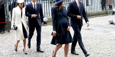 Royals beim Commonwealth Day Service