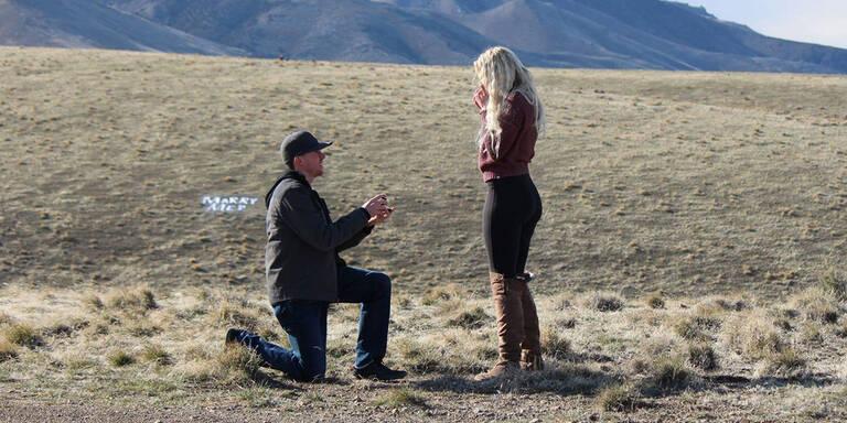 Vater crasht Hochzeitsantrag