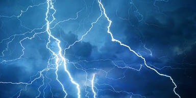 Unwetter Gewitter Blitze