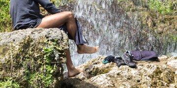 Bad Häring: Perverser Wanderer entblößte sich vor Frauen