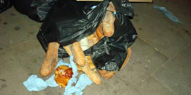 Brot Gebäck Müll