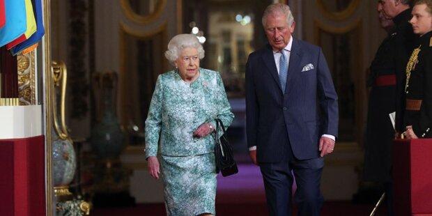 Die Queen will Charles als Thronfolger!