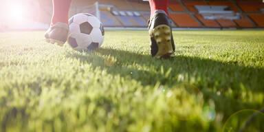 Fußball Fußballer Fußballfeld