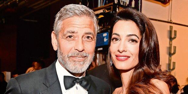 Millionen-Spenden von Clooney & Co