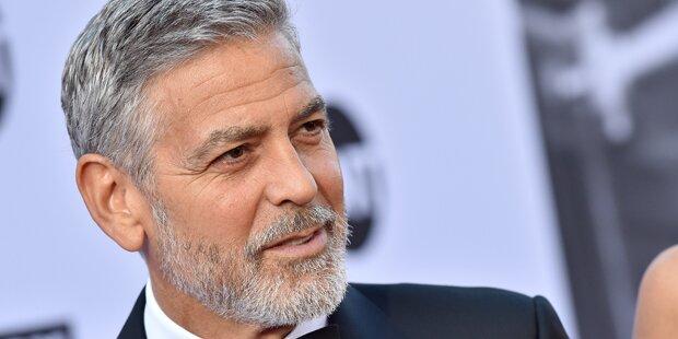 Clooney: So schlimm war sein Motorrad-Unfall