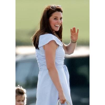 Kate & Kids bei Royal Polo Trophy