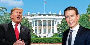 Kurz: Sein Tag bei Donald Trump