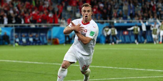 Nach Eklat bei WM: Belgrad-Präsident warnt Shaqiri