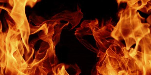 Hemd auf Wandleuchte löste Brand aus