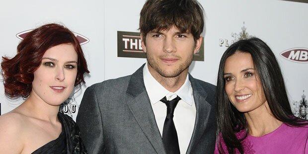 Rumer Willis: Verknallt in Ashton Kutcher