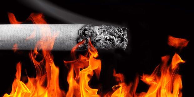 39-Jähriger schlief mit Zigarette ein - Zimmerbrand in OÖ