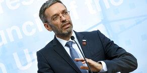 Kickl will 'Sicherungshaft für gefährliche Asylwerber'