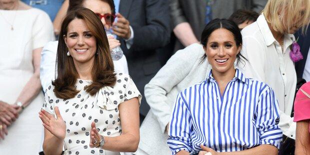 Meghan & Kate: Kensington-Palast dementiert Streit-Gerüchte
