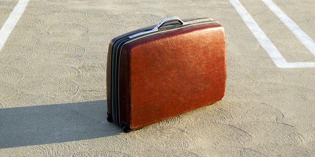 Frauenleiche in Koffer gefunden