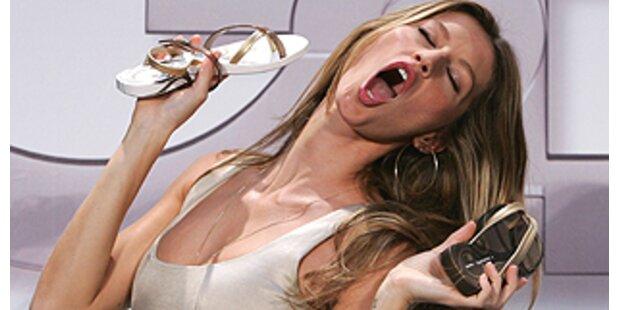 Sandalen-Designerin Bündchen flippte total aus