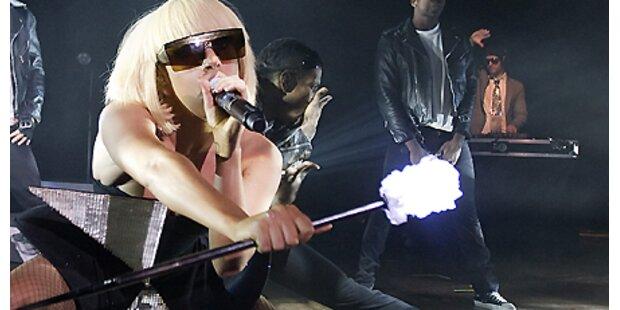 Drei Männer kämpfen um Lady Gaga!